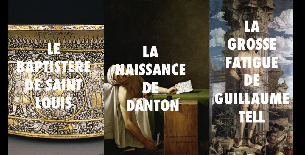De gros titres au Louvre-Ravioli