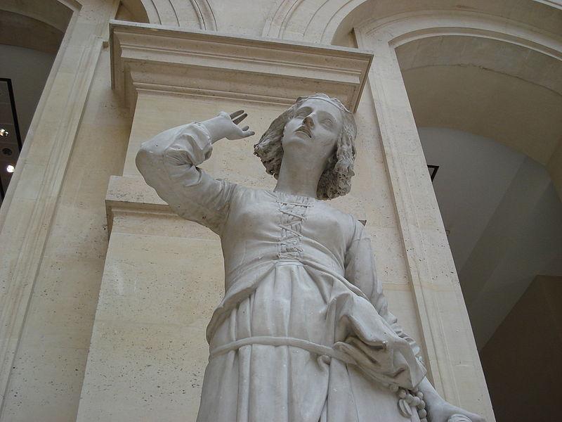 Jeanne d'Arc écoutant ses voix