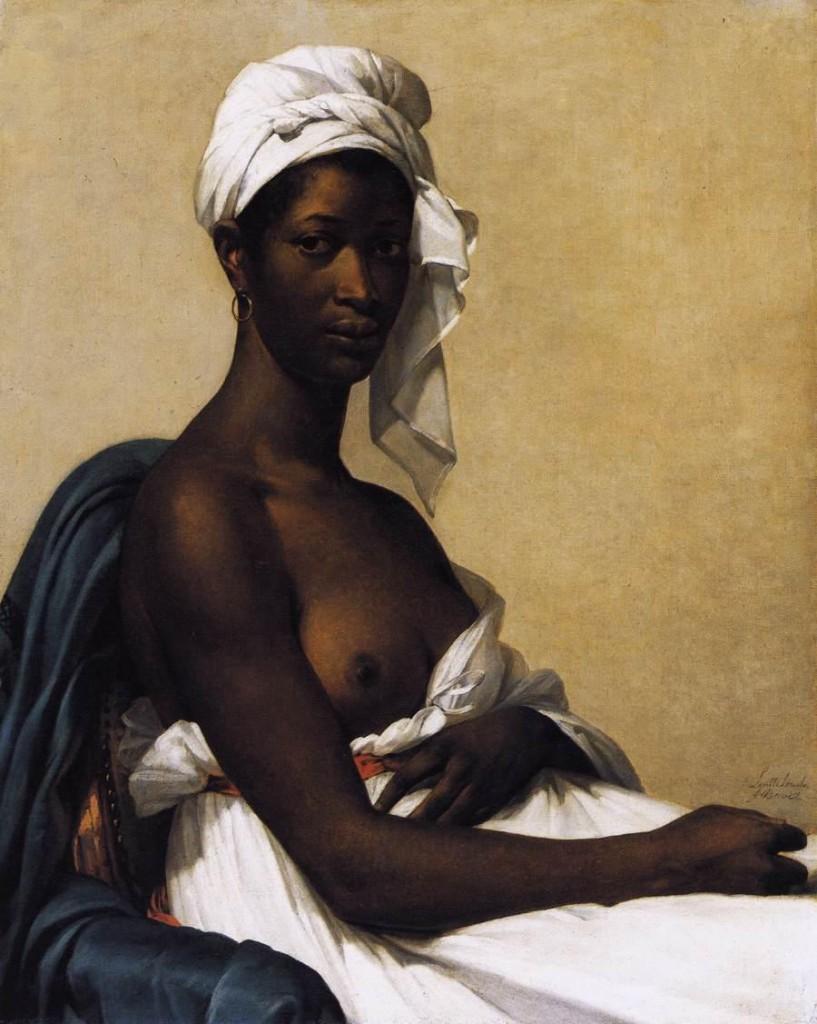 """MG Benoist """"Portrait d'une femme noire"""" / CC-PD-Mark"""