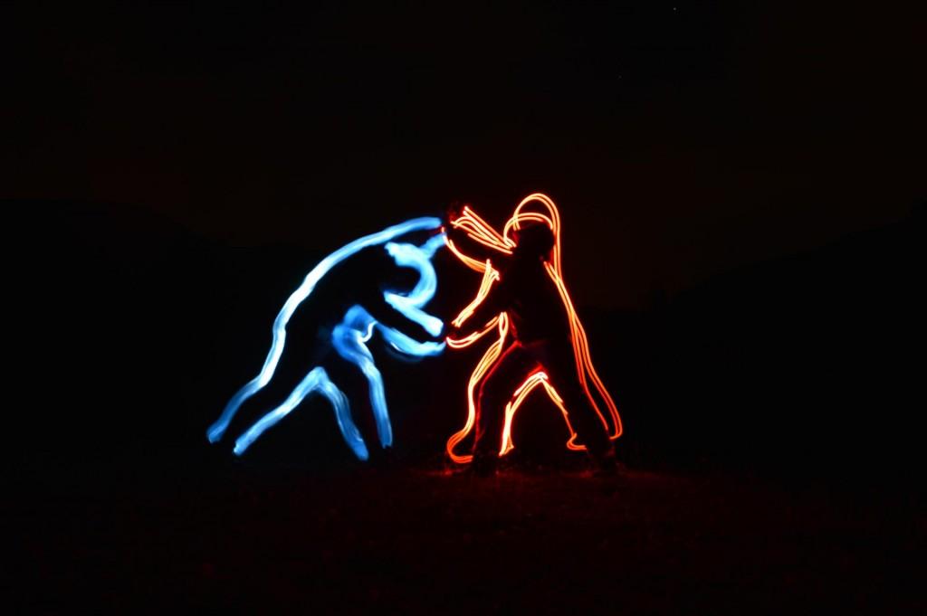 """Duel Light"" par François DLCVY (Wipplay.com)"