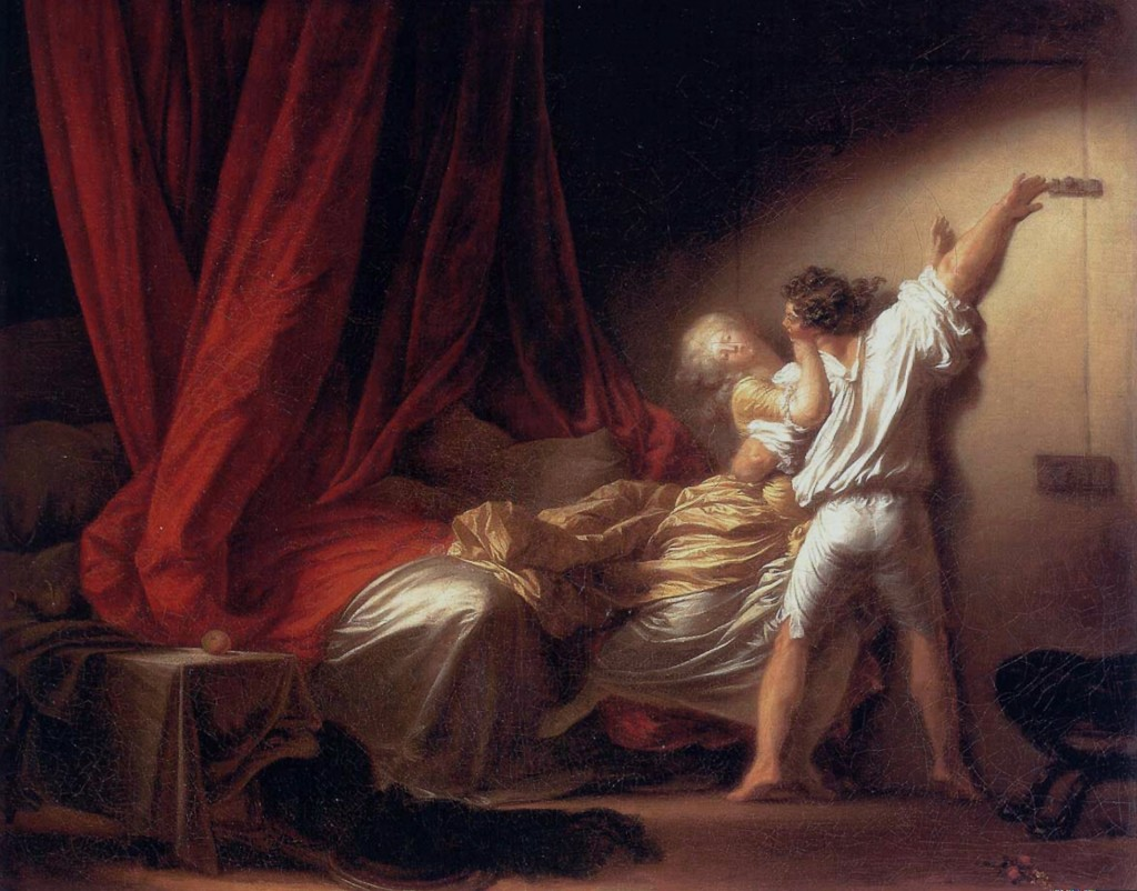 """Le verrou"" par J-H Fragonard (CC-PD-Mark / The York Project)"