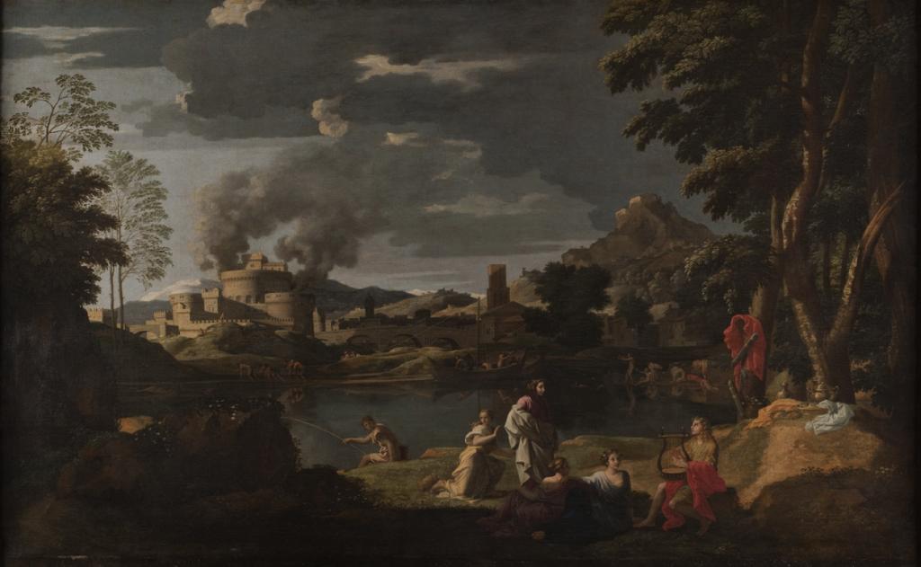 Paysage avec Orphée et Eurydice (v. 1650-1653) Nicolas Poussin