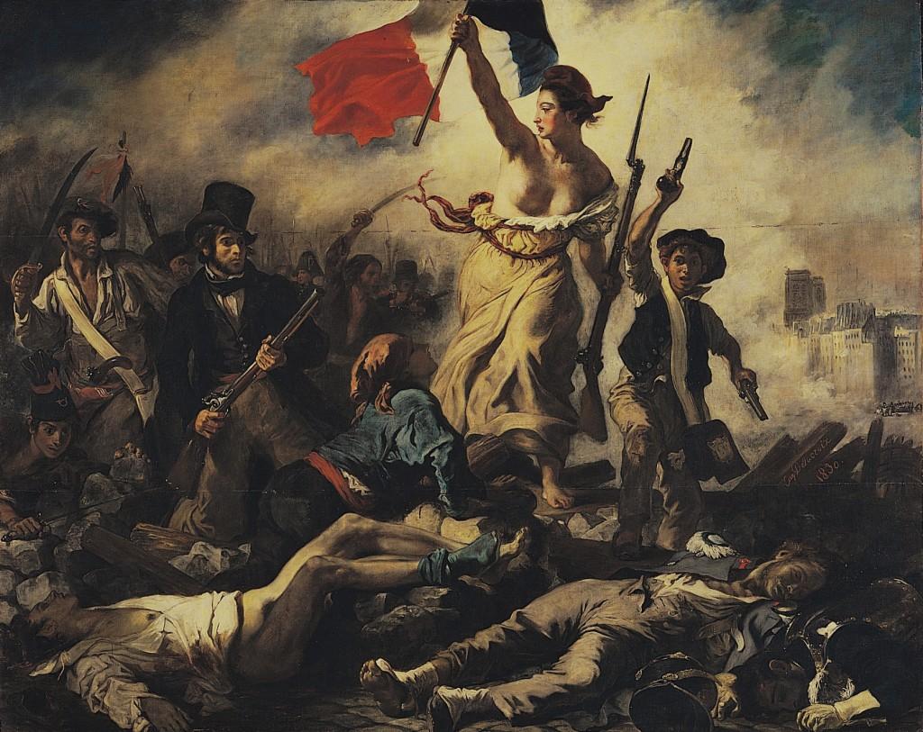 """""""La Liberté guidant le peuple"""" - Eugène Delacroix (1830) - Musée du Louvre"""