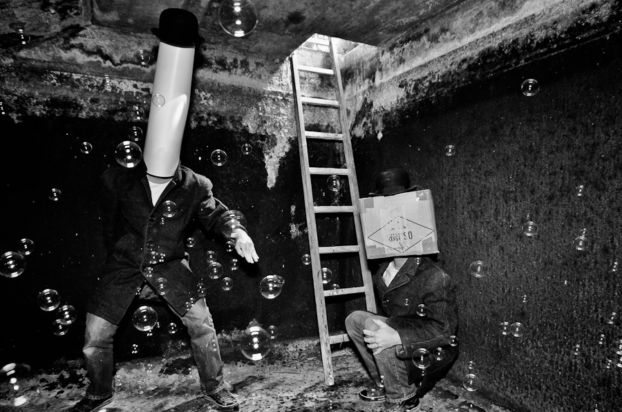 """Do you see the good bubble of Mr Box ?"" - Cushmok (Wipplay.com) Portrait de Jean II le bon"
