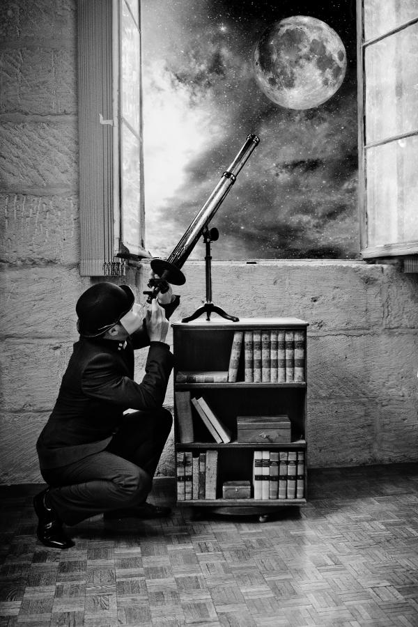 L'Astronome ou plutôt L'Astrologue