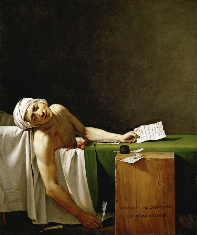 Marat assassiné