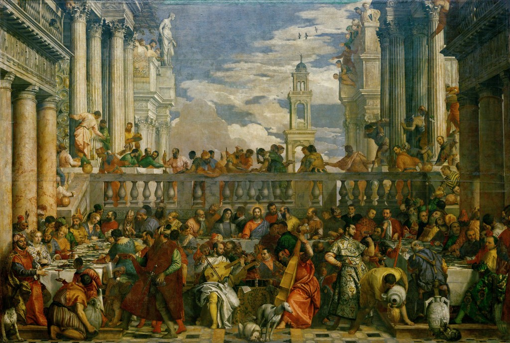 VÉRONÈSE - Les Noces de Cana - 1563